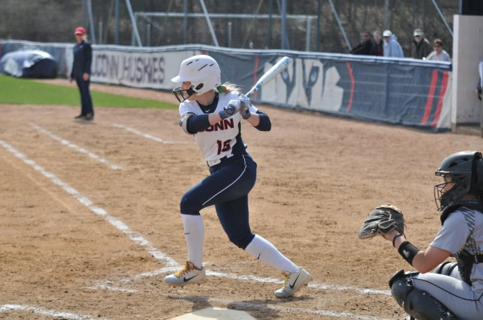 UConn went 0-4 in last weekend's Florida Atlantic Softball Tournament in Boca Raton, Florida. (File photo/The Daily Campus)