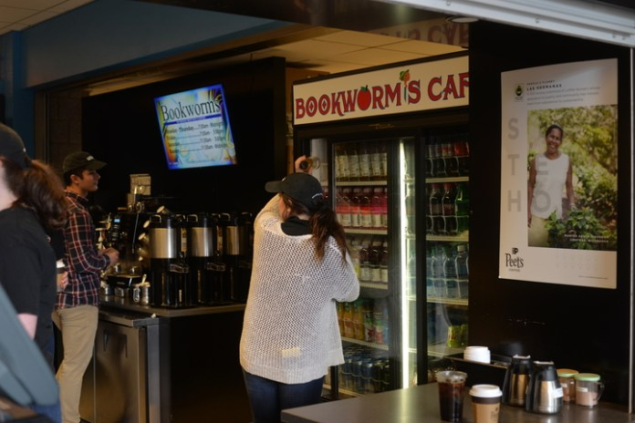 If you've ever visited Bookworms or the Chem Cafe, perhaps Lauren Ablondi has chatted with you as she cashed you out. (File/The Daily Campus)