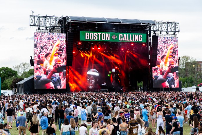 This year's Boston Calling was a full on experience of the senses with fun attractions for all interests.  Image Courtesy Boston Calling
