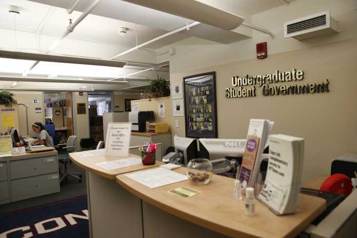 University of Connecticut students can vote for their Undergraduate Student Government (USG) representatives until midnight online.  File Photo / The Daily Campus