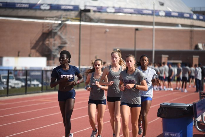 The men's and women's cross country teams are competing in the Princeton Invitational this weekend. Both coaches say their teams are ready for the season ahead.  Photo by Charlotte Lao / The Daily Campus.