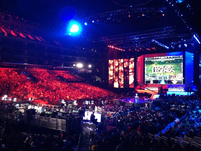 After a series of upsets, two Chinese teams found themselves on top in the League of Legends quarterfinals.  Photo by Chris Yunker from Flickr Creative Commons.