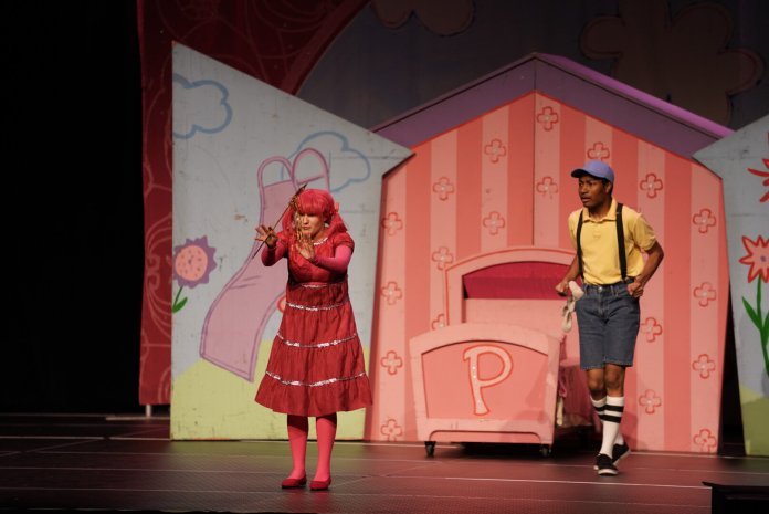 Pinkalicious the Musical is performed by the Vital Theatre Company in Jorgensen on Sunday, Nov. 3. The musical is based off of the popular children's book by Elizabeth and Victoria Kann.  Photos by Maggie Chafouleas / The Daily Campus.
