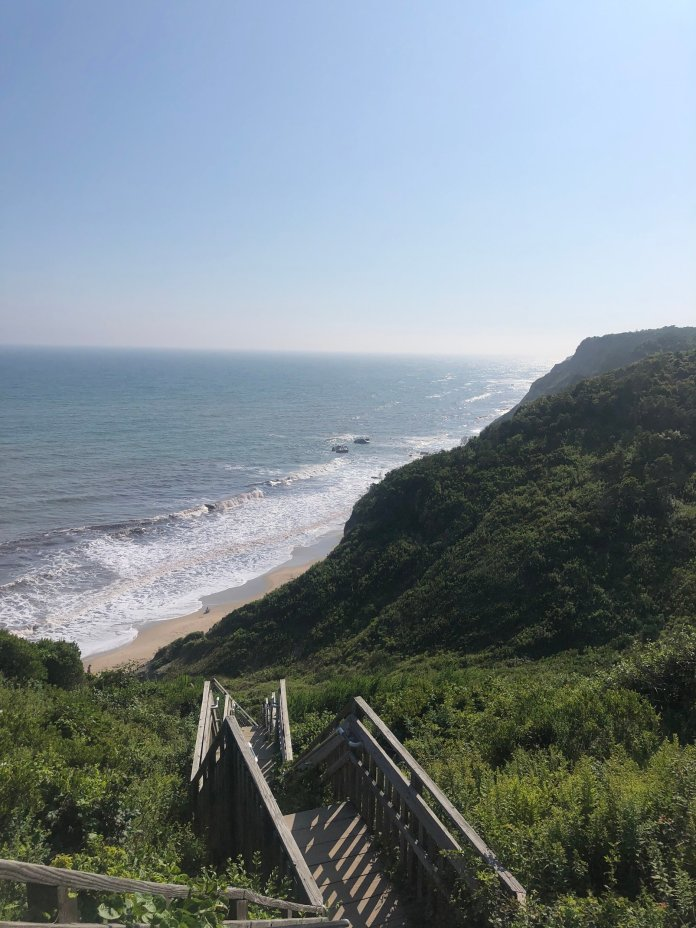 For many people, New Englanders especially, Block Island is a summer destination. A place for relaxing on the beach, partying with friends and licking dripping ice cream cones.  Photo provided by author