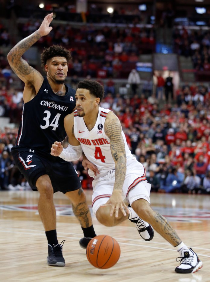 Cincinnati's men's basketball team is in store for another strong season after making the NCAA Tourney in 2018-19.  Photo from the Associated Press.