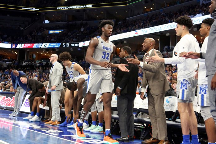 Unlike Ohio State, it appears Memphis is going to fight to allow Wiseman to play after the NCAA declared him ineligible for getting money from head coach Penny Hardaway to move to Memphis.  Photo from the Associated Press.