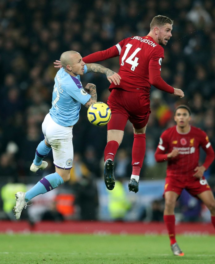 There have been plenty of questionable calls so far in the BPL, putting to question whether VAR is worth the hassle.  Photo from the Associated Press.