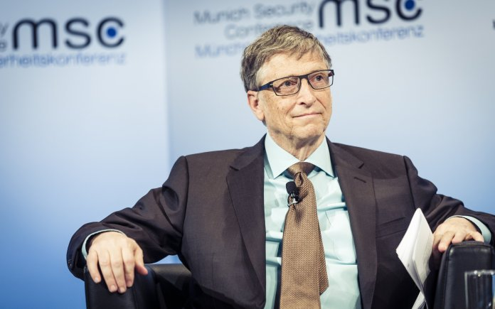 Bill Gates's wealth makes his opinion on taxes basically useless.  Photo in the    public domain