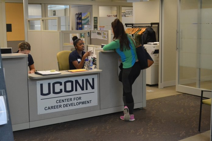 A resume critique program for freshmen has been implemented at the Center for Career Development.  File Photo / The Daily Campus.