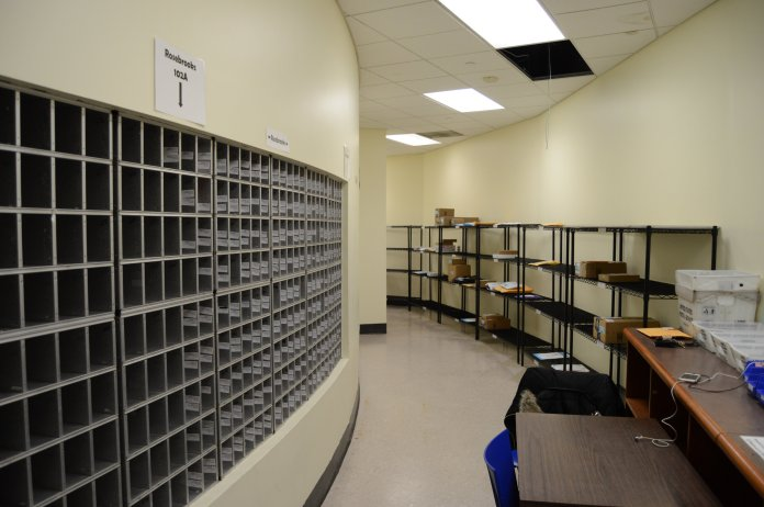 The last day mailrooms on campus will be open is Friday, Nov. 22. Students should be aware of address changes and service hours during Thanksgiving break.  Photo by Mike Mavredakis/The Daily Campus