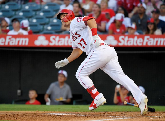 While Mike Trout remains by and large the best player in baseball, other pieces are still missing for the Angels. But this offseason they have to opportunity to fill several of those holes.  Photo from the Associated Press.