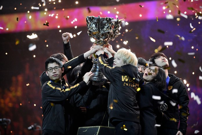 Twenty-seven awards were given out to those participants and coaches in Esports that had standout years in 2019.  Photo from the Associated Press.