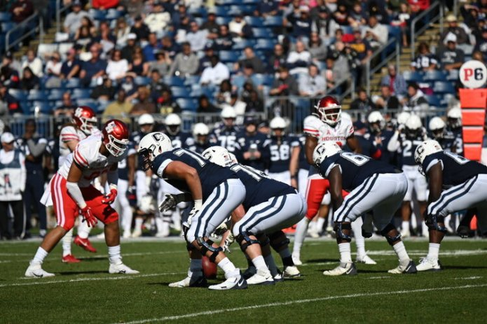 """With Peart moving onto """"bigger and better things"""" as Zergiotis put it, this offense is going to need a new leader.  Photo by Eric Wang / The Daily Campus."""