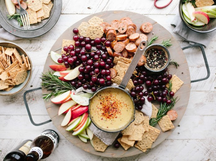 Create a beautiful plate of appetizers and hors d'oeuvres.  Photo by    Brooke Lark    on    Unsplash   . Thumbnail photo by    Annie Spratt    on    Unsplash   .