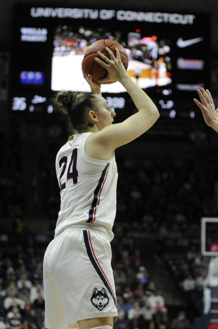 The Huskies win 92-34 against Tulsa on Saturday, Jan. 19. This year, the UConn athletics budget deficit grew to $42.3 million.  Photo by Maggie Chafouleas/The Daily Campus.