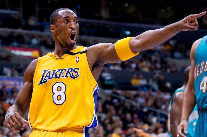 Kobe was an ultra-competitor who brought his passion into every game he played.  Photo courtesy of The Associated Press.