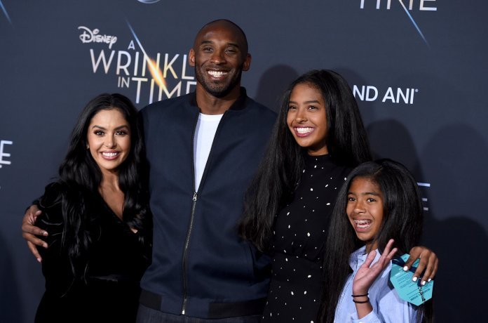 Kobe and his family were known fans of the UConn women's basketball program, and will surely be missed by all they touched.  Photo courtesy of The Associated Press.