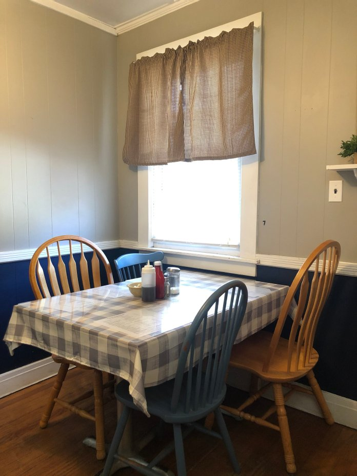 Gramma's Comfort Foods is styled like a home converted into a restaurant.   Photo courtesy of author