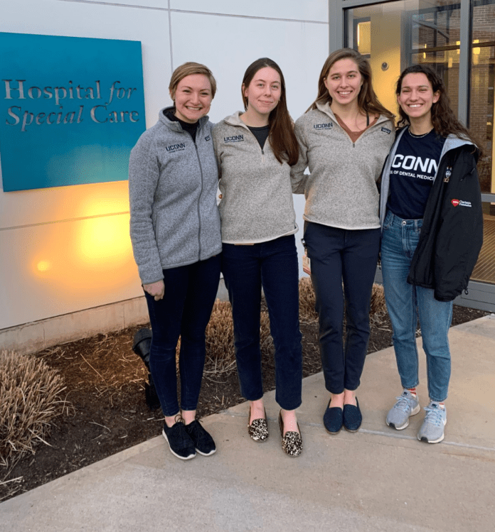 Four UConn students will be traveling to Seattle, Washington to take part in a coast-to-coast cycling charity event. This will be the 15th year UConn is participating in the trip.  Photo by Talia Staiger.