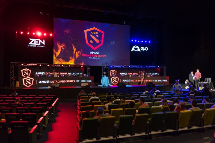 Viewership is rapidly growing in the sport as well. Last year's League of Legends World Championships was viewed by over 100 million people.  Photo by a.canvas.of.light via Flickr Creative Commons.