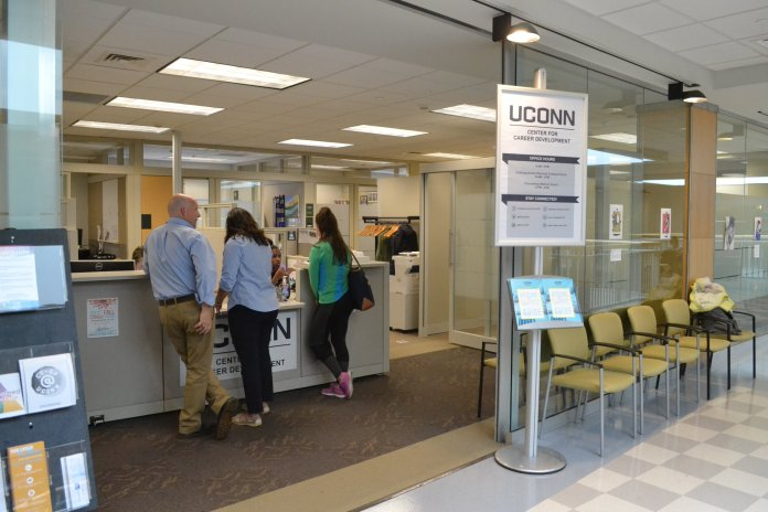 UConn's Center for Career Development.  File Photo/Daily Campus