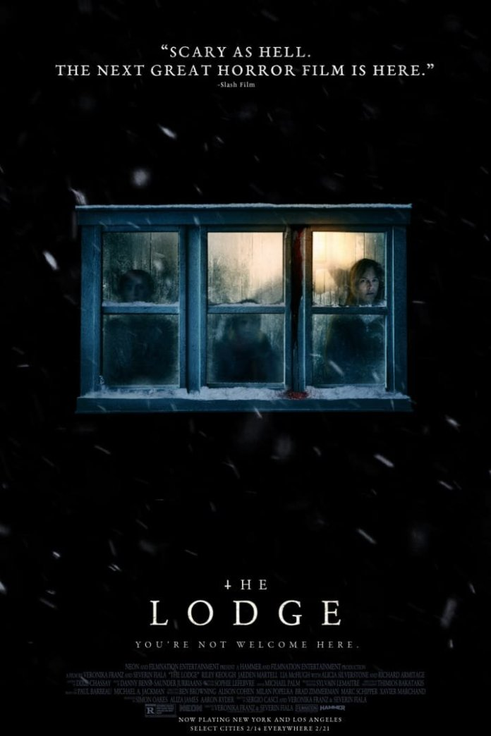 """""""The Lodge"""" is the newest film from NEON, a studio best know for their award winning films """"Parasite"""" and """"I, Tonya.""""  @thelodgemov"""