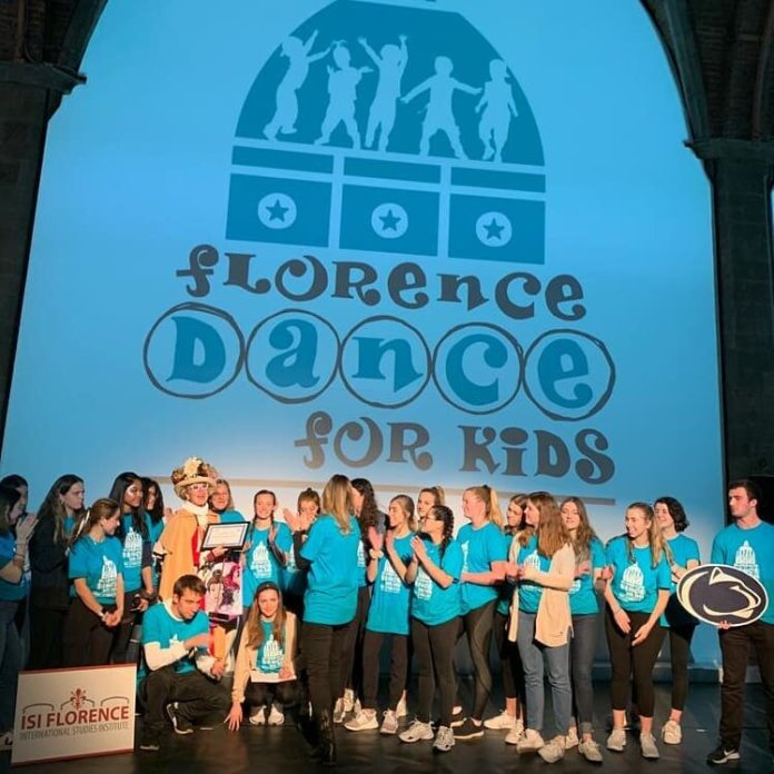 A photo from the Florence Dance For Kids. The Florence Dance For Kids is similar in some ways to HuskyTHON.  @isiflorence