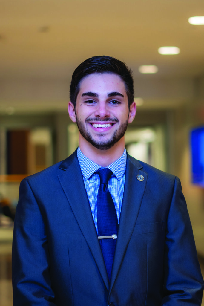 A photo of student trustee candidate Ethan Werstler. Ethan Werstler is one of two candidates running for the student seat on the Board of Trustees.  Photo Courtesy of Ethan Werstler