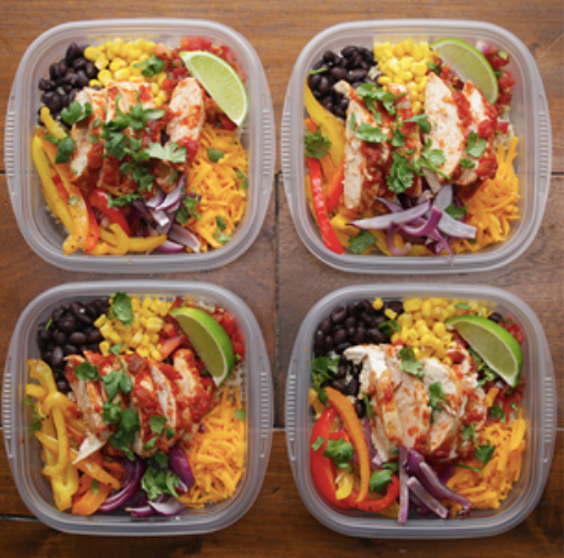This week's Melissa's Menu offers a great place to start if you're looking to get into meal prep that packs flavor and a longer shelf-life.  Photo via tasty.co