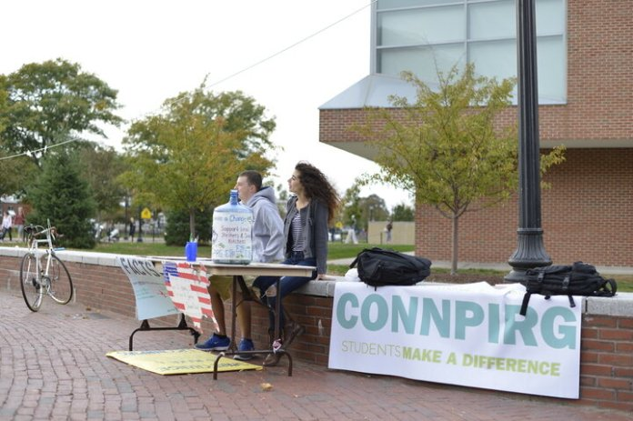 """The University of Connecticut's chapter ofConnPIRGtestified in support of a bill that will banstyrofoamin Connecticut.According to aConnPIRGpress release, the General Assembly's Environment Committee voted in favor to pass SB 99: """"An Act Concerning Use and Distribution of Polystyrene Products."""" File Photo / The Daily Campus"""