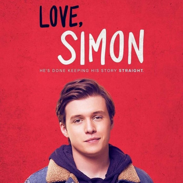 """The cover for the """"Love, Simon"""" movie. Disney originally had a """"Love, Simon"""" series planned, but limited it due to depicting more mature themes.  @lovesimonmovie"""