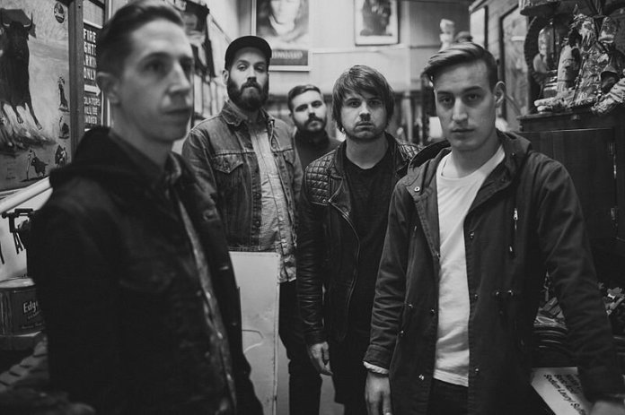 """The band Silverstein in 2014. Their newest release is the album """"A Beautiful Place to Drown"""".  Photo in the    public domain"""