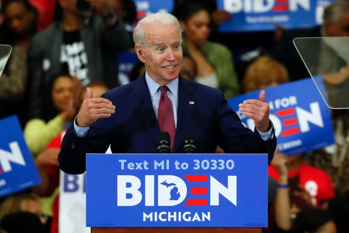'If Joe Biden is nominated, he will lose to Trump. All of the issues listed within this article are huge general election liabilities.  Photo by Paul Sancya/AP Photo.