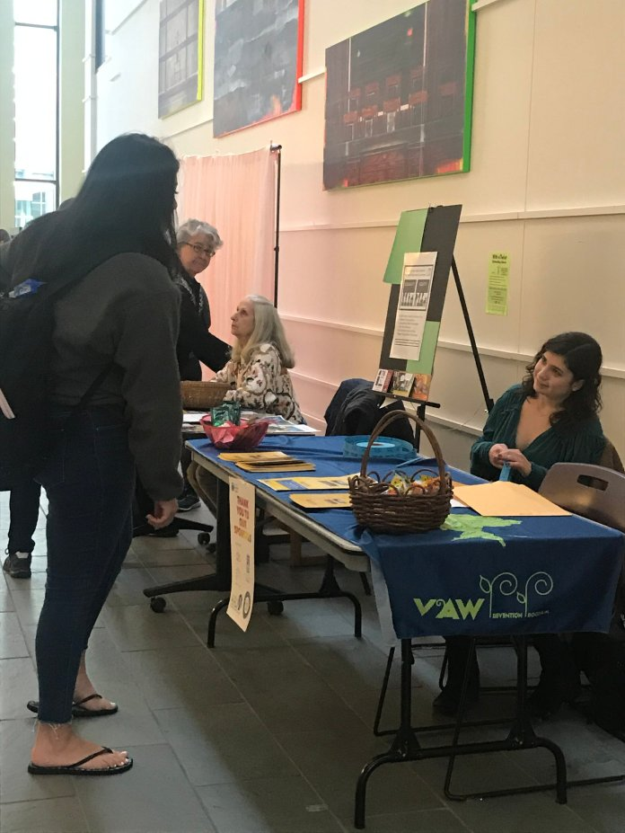 """The Women's Center hosted their own LUNAfest earlier this month. The slogan around the event was """"Films By and About Women.""""  Photo courtesy of author."""