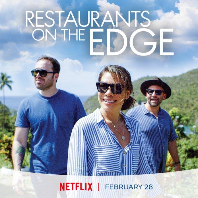 'Restaurants on the Edge' is Netflix's latest food show where experts revive failing restaurants.  Photo via    imdb.com