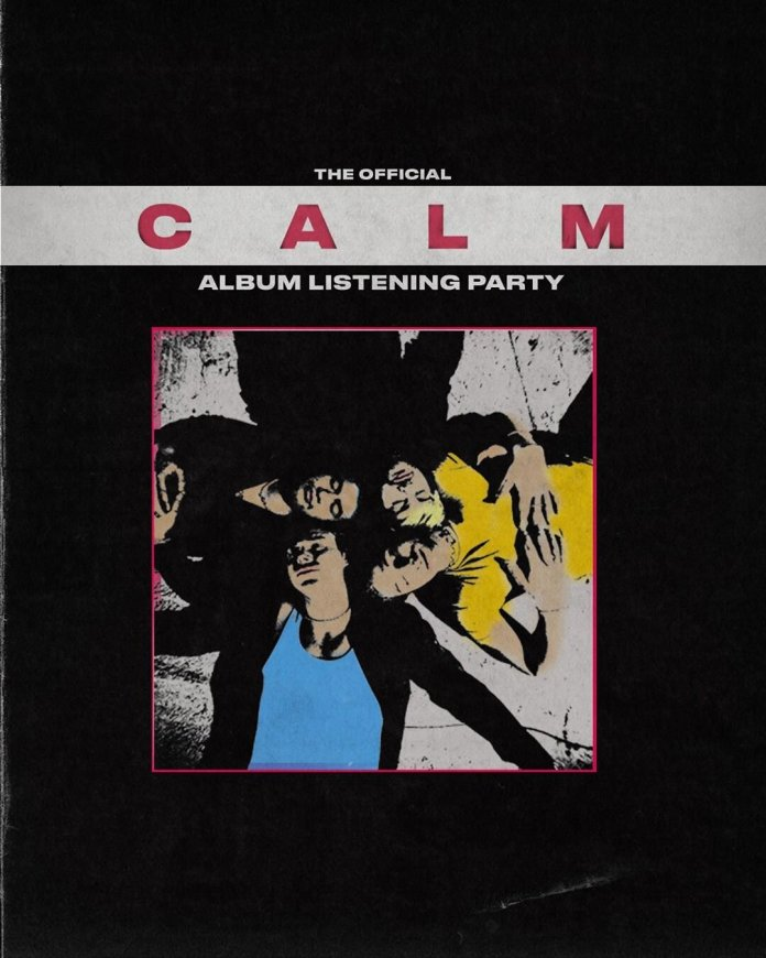 """The album cover for 'CALM.' 'CALM"""" was released on March 27th.  @5sos"""