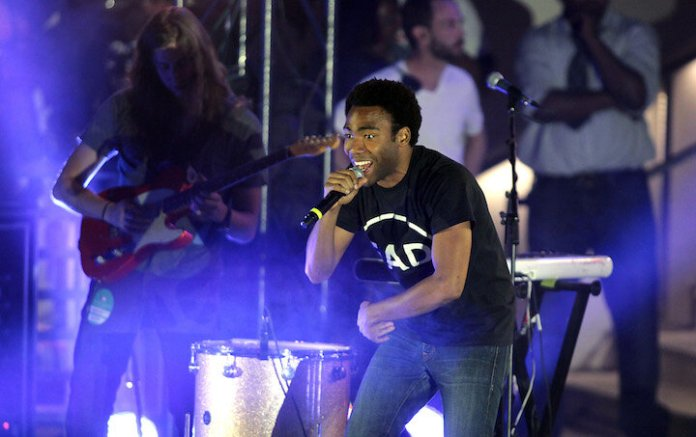Childish Gambino (Donald Glover) performs at Boulevard Pool at The Cosmopolitan of Las Vegas on May 27, 2012.  Photo courtesy of The Cosmopolitan of Las Vegas/   Flickr