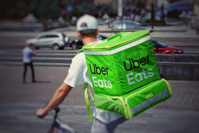 Working for in-demand food and grocery delivery services, like Uber Eats, is a great way to make money during the coronavirus pandemic.  Photo by    Robert Anasch    on    Unsplash   . Thumbnail photo courtesy of    Matt Ragland    on    Unsplash   .