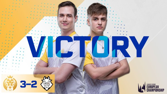 The MAD Lions a Spanish team in the League of Legends European Championship took an upset win over the Summer Split champions, G2.  Photo courtesy of    @MADLions_LoLEN    on Twitter