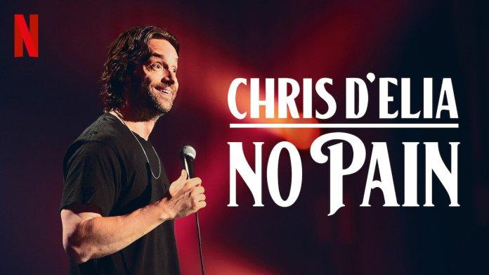 American comedian Chris D'Elia's new Netflix show 'No Pain' was released on April 14.  Photo courtesy of    usa.newonnetflix.info