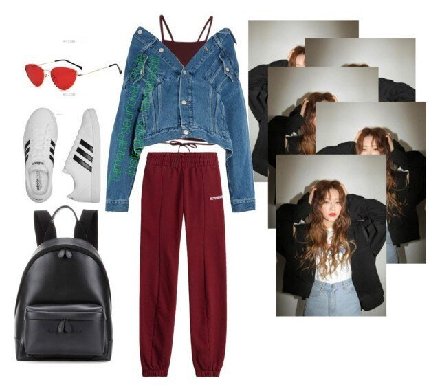 An example of what a collage on Polyvore looked like.  Image via    Dazed Digital