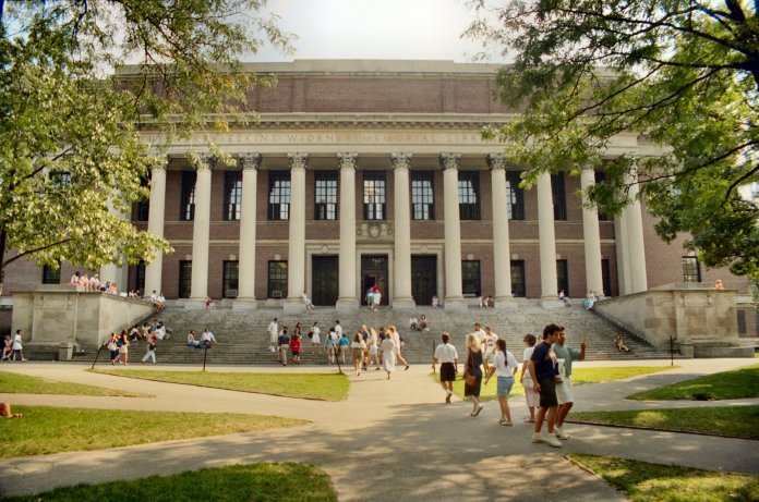 Harvard University is offering over 64 online classes to students during the pandemic. They range from English to Biochemistry.  Photo by Will Hart via    Flickr Creative Commons
