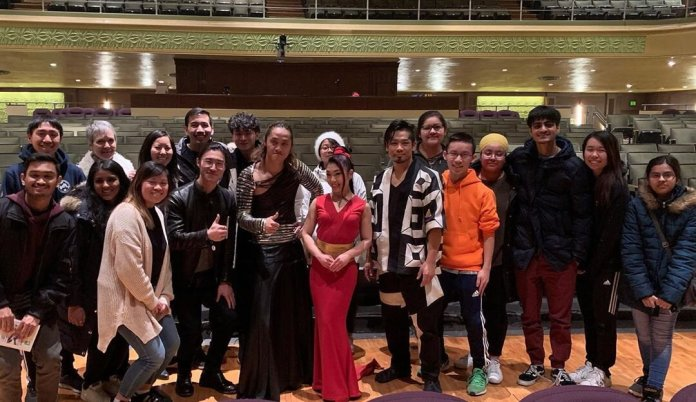 A photo of the UConn AsACC staff attending a performance at the Jorgensen. AsACC is located on the fourth floor of the Student Union.  Image via    @uconn_asacc