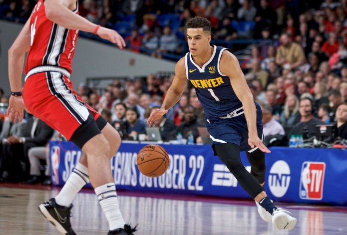 Even after this season Michael Porter Jr. remains a huge question mark in Denver. Drafted 15th due to a back injury people forget that Porter had No. 1 potential, something they will soon be forced to remember if he can carve a role in on the Nuggets.  AP Photo