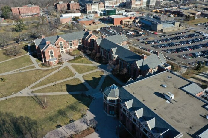 University of Connecticut students should expect their housing to be changed after ResLife announces they will be reassigning housing and reducing the number of students in dorms come fall 2020 in response to the COVID-19 pandemic.  File photo/The Daily Campus