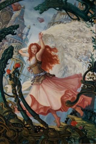 Persephone - Original Oil Painting — Kristina Carroll Art