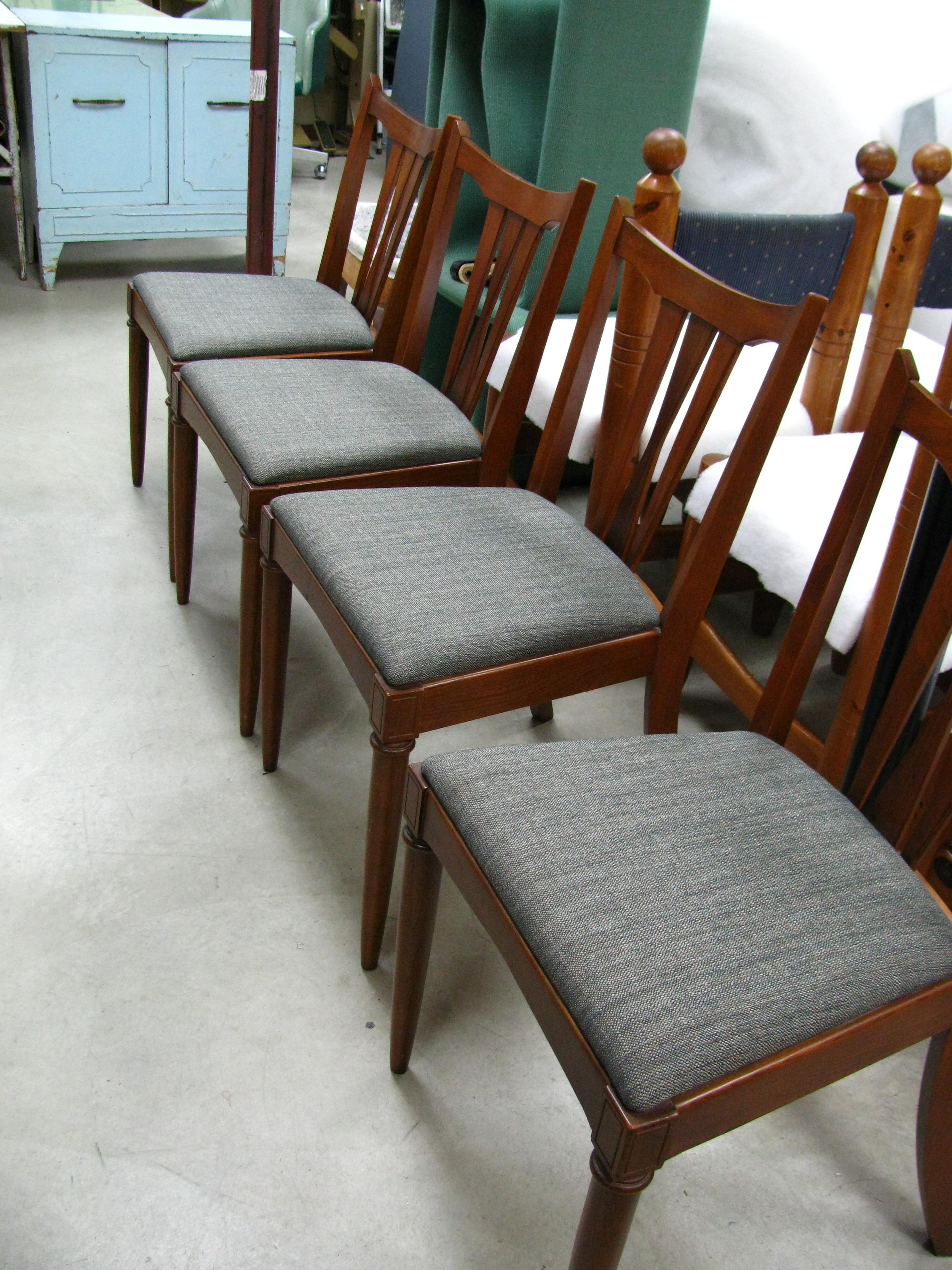 remise a neuf de chaises de
