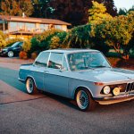 Beauty In Simplicity 1976 Bmw 2002 Restomod The Paddock