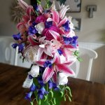 Tropical Silk Flowers Bouquet Recreation Silk Wedding Flowers And Bouquets Online Love Is Blooming
