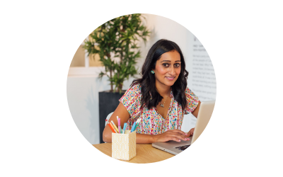 """""""Nesha is brilliant. She always gives    spot-on advice that's simple and easy to understand.    She's one of the few people I would turn to for business advice.""""    - KRISHNA SOLANKI"""